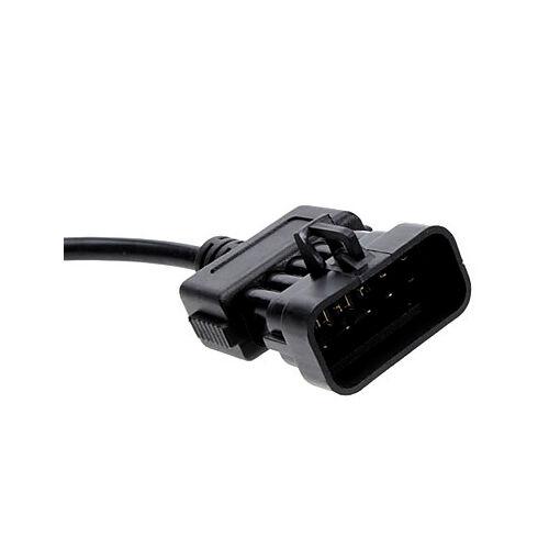 Adaptateur 10 Épinglette pour Opel sur Obd2 16 Broches Fiche Diagnostic Câble
