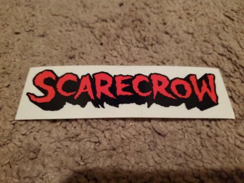 Vintage Scarecrow Skateboards Stickers NOS set of 3