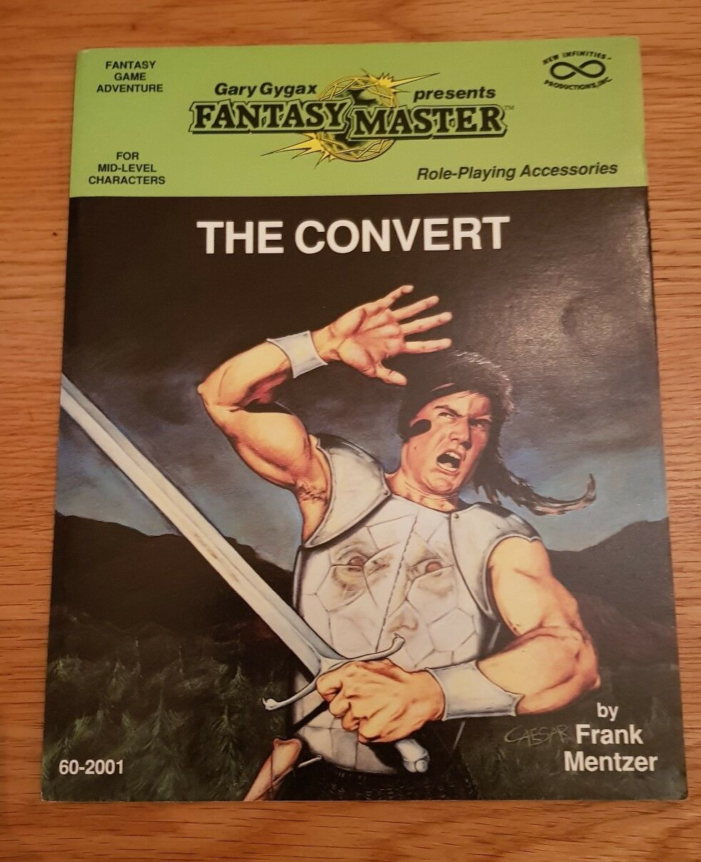 THE CONgreen - GARY GARY GARY GYGAX FANTASY MASTER FRANK MENTZER RPG ROLEPLAYING DND AD&D 4a82d0
