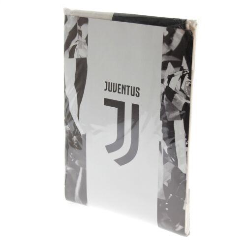 Completo Lenzuola F.C Juve Juventus Ufficiale Nuovo Logo 100/% Cotone Singolo