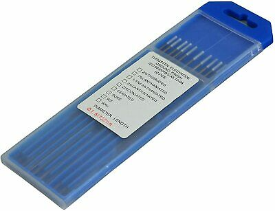 """2.4X175mm 3//32/""""X7/"""" Ceriated Tungsten Electrode Grey for TIG Weld WC20 Qty-10"""