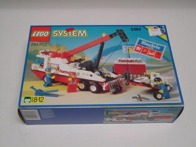 LEGO Classic Town RACE 6484 F-1 Hauler nouveau Sealed Ships  World grand  bienvenue à l'ordre