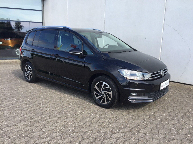 VW Touran 1,6 TDi 115 Comfortline 7prs 5d - 269.700 kr.