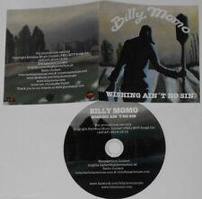 Billy Momo - Wishing Ain't No Sin - 2014 Swedish Promo CD Single