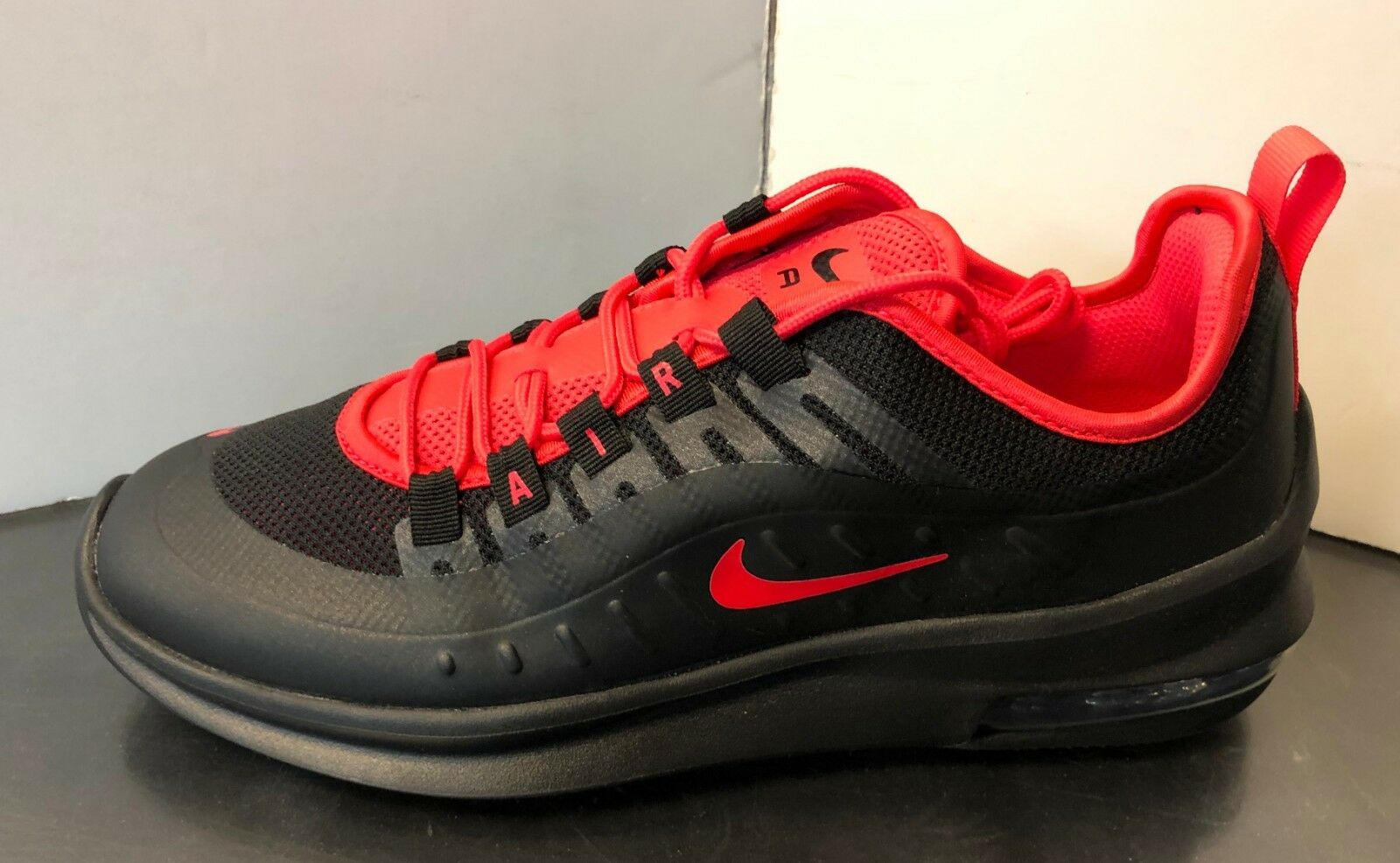 AA2146-003 Nike Air Max Axis Running shoes Black Red Sizes 8-13 NIB
