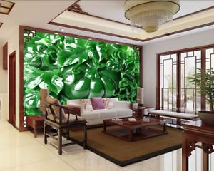 3D greener Kürbis 864 Tapete Wandgemälde Tapete Tapeten Bild Familie DE Summer