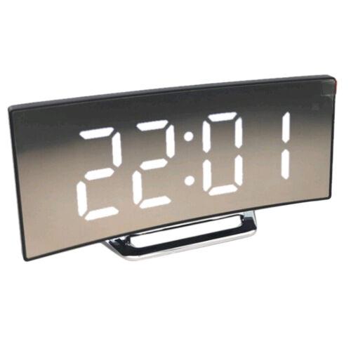 3D LED Electronic Digital Large Clock Desk Calendar Alarm Clock Display