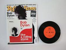Bob Dylan - like a rolling Stone | Ungespielt + Magazin | CBS  | LP: Mint