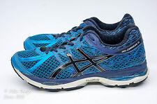 VGC! ASICS Gel-Cumulus 17 Men's Size 8 Running Shoes Blue/Black T5D3N