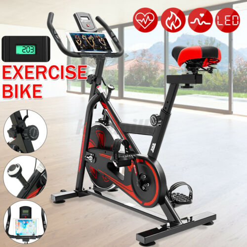 Exercise Bicycle Cycling Fitness Stationary Bike Cardio Home Indoor Workout Gym