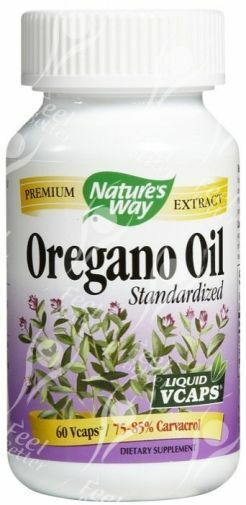NATURE S WAY Oregano Öl Liquid eliquid - 50mg x 60 Caps