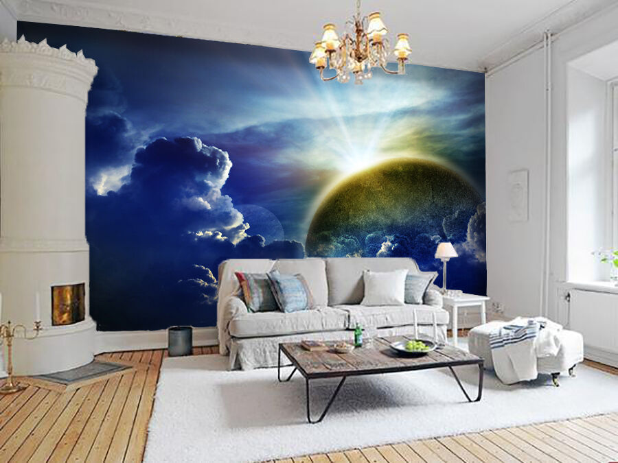 3D Bright Sunrise 9002 Wall Paper Wall Print Decal Wall Deco Wall Indoor Murals