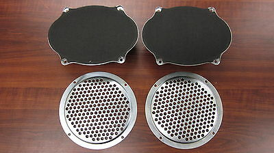 Holden HT HK HG Parcel Shelf Speakers and Grille Covers 5x7 Pair Monaro GTS