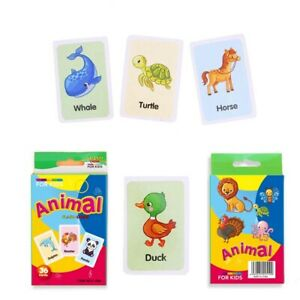36pcs/box Baby Kids Flash Cards Educational Learning ...