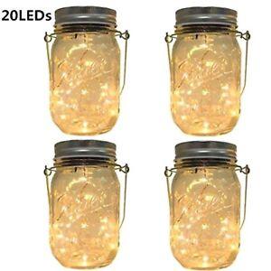 Image Is Loading Solar Lanterns Outdoor Hanging Mason Jar Lights