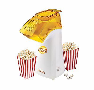 sunbeam professional popcorn maker manual