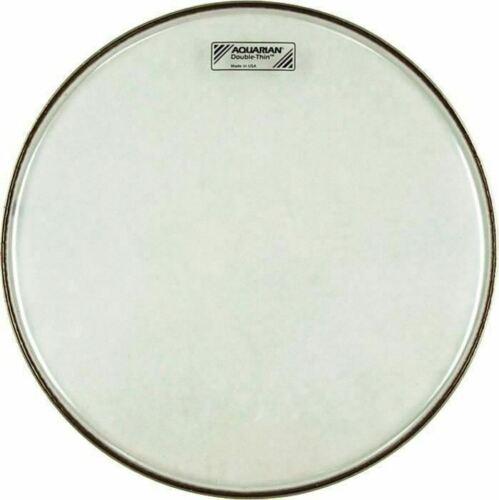"""Aquarian DT8 Double-Thin 8/"""" Drum Head Ultra Rare!"""
