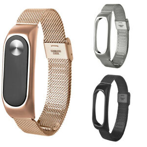 Stainless-Steel-Mesh-Milanese-Wrist-Strap-Bracelet-For-Xiaomi-Mi-Band-2-Miband
