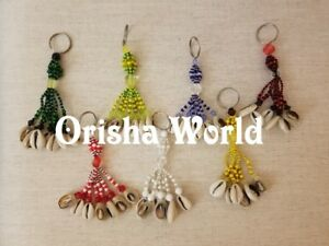Orisha-Keychain-Llavero-Orula-Oshun-Elegua-Oggun-Yemaya-Shango-Obatala-Santeria