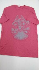 Jerzees Women's Star Wars Novelty T-Shirt (Red, M)