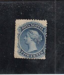NOVA-SCOTIA-MK4549-10a-F-MNG-5cts-QUEEN-VICTORIA-BLUE-CAT-VALUE-250