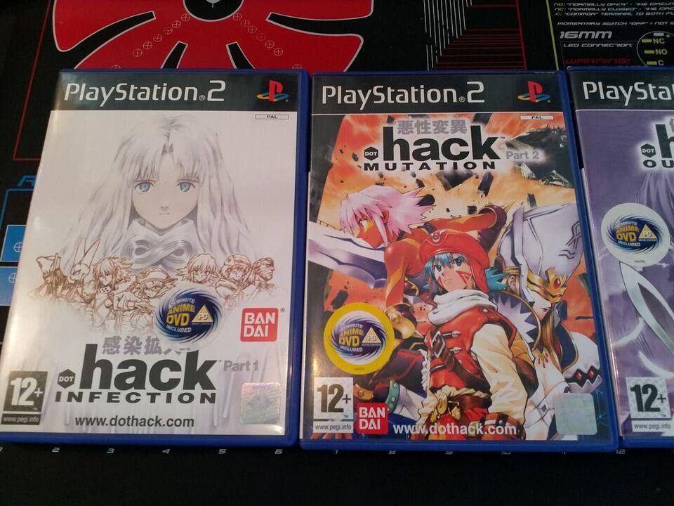 Dot Hack, PS2, rollespil