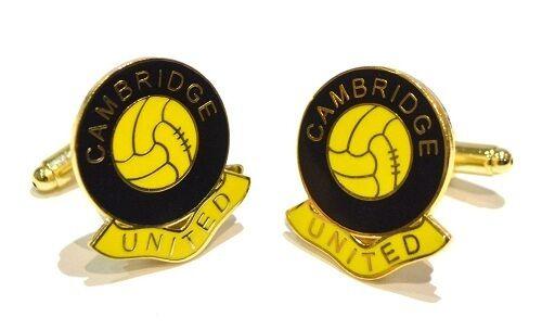 CAMBRIDGE UNITED FOOTBALL CLUB CUFFLINKS