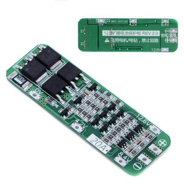 13S 48V 30A Cell Li-ion Lithium Battery Charger PCB BMS Protection Board