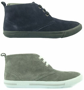 3bed42b728b Details about P2 Prada Men's Shoes Desert Boots Hi Top Sneakers Man  Herrenshuhe 100% Authentic