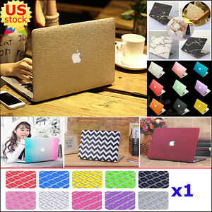 Matt-Silk-Leather-Quicksand-Hard-Case-Keypad-Cover-for-MacBook-Air-Pro-11-034-13-034