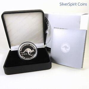 2013-1-KANGAROO-20th-ANNIVERSARY-EDITION-Silver-Proof-Coin