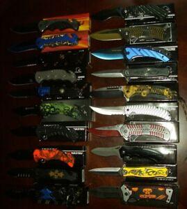 "910117 Kilimanjaro Allatro 8/"" Folding Knife-Spring Assist W//Black Satin Blade"