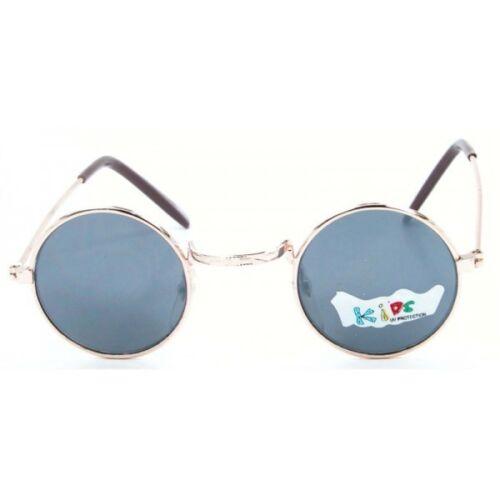 Cool Baby Kids Retro Sunglasses Children Style Boys Girls Age 1-3 Round Frame