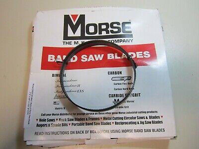 "4-1//2 In L,Bimetal ZWEDC1014MAT-5/' 4-1//2/"" MORSE Band Saw Blade,5 ft"