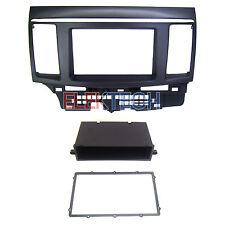 Dash Mount Radio Replace Kit Double/Single DIN w/Pocket for Mitsubishi Lancer