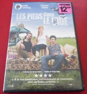 DVD-French-Canadian-Movie-Les-Pieds-dans-le-Vide