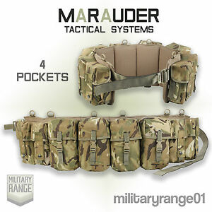 Marauder-Special-Forces-Airborne-Webbing-Belt-36-38-034-British-MTP-Multicam