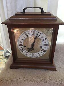 Working Vintage Hamilton Westminster Chime Bracket Clock