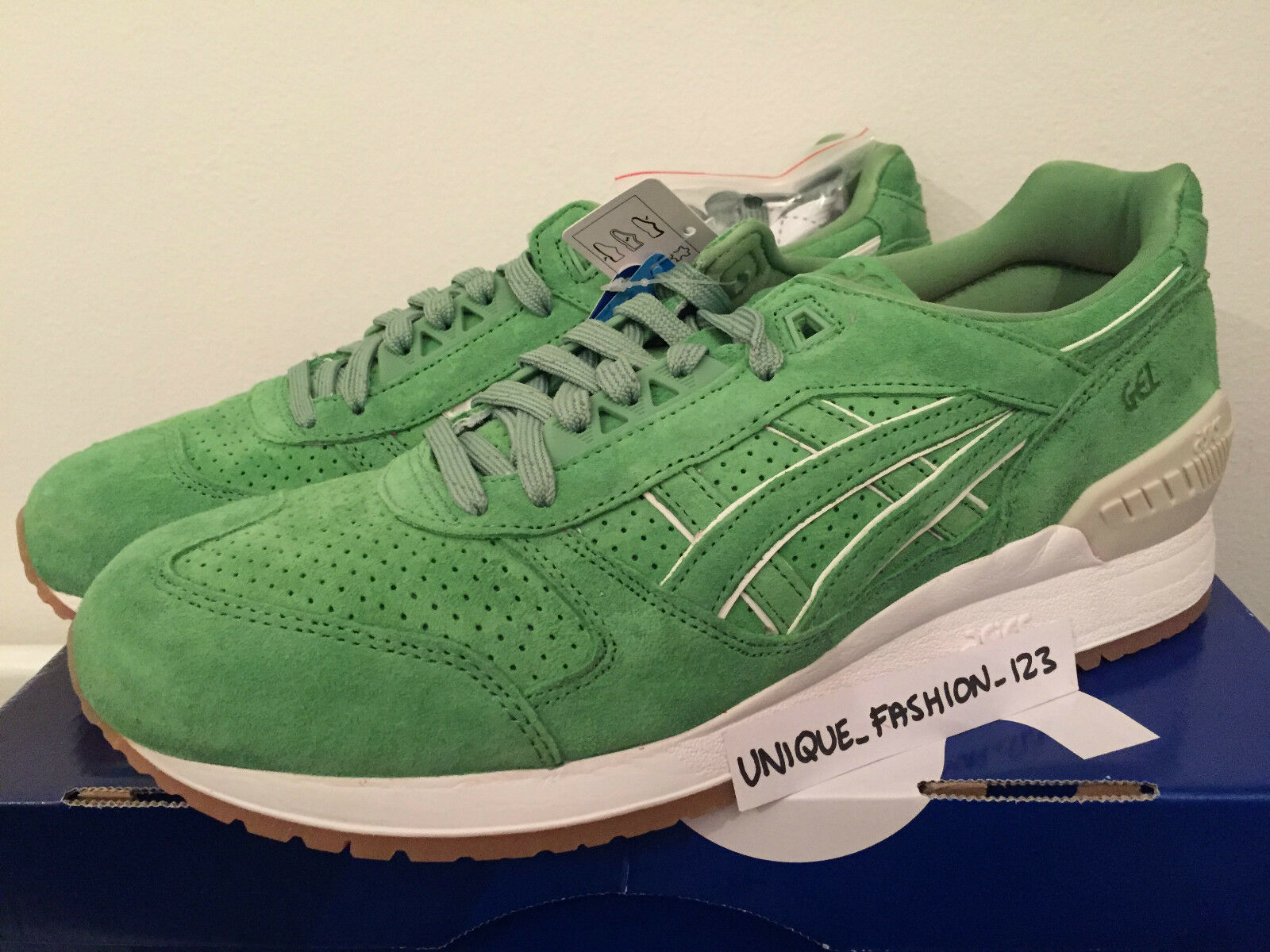 ASICS GEL LYTE LYTE LYTE RESPECTOR CONCEPTS COCA US 11 GREEN 2015 119250