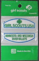 (12) Girl Scout Cadette Minnesota & Wisconsin River Valleys Council Id Set Patch