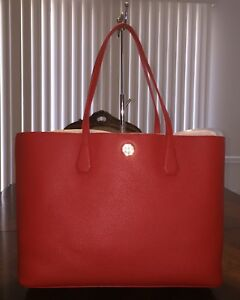 Image is loading NWT-Tory-Burch-Perry-Brody-Tote-in-Samba- 070f550b8072d