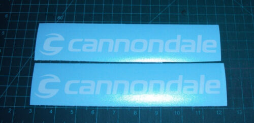 Cannondale Bike Frame Decals Sticker Set of 2 MTB DH Freeride Cycling Road
