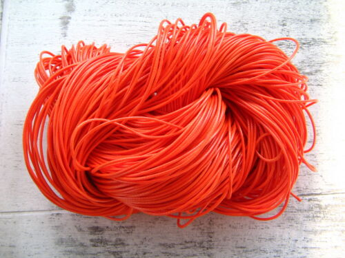 Polyester Kordel 1mm stark 90 Meter Korea Wachsband Flechtkordel Flechtband