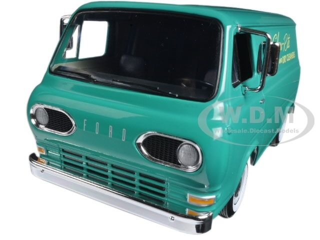 1960'S FORD ECONOLINE VAN CLEAN-RITE LAUNDRY DRY CLEANER 1 25 FIRST GEAR 49-0399