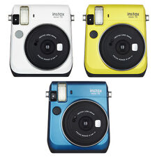 Fujifilm Instax Mini 70 Fuji Instant Film Camera All Colors - White Yellow Blue