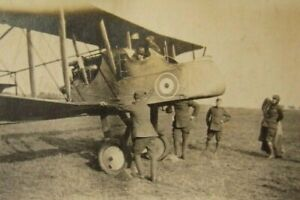 Vintage-WW1-Aeroplane-Photograph-Royal-Aircraft-Factory-FE-2b-Royal-Flying-Corps