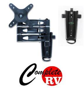 TRIPLE-arm-LCD-TV-bracket-with-2-mounting-brackets-Caravan-RV-Parts-Motor-Home
