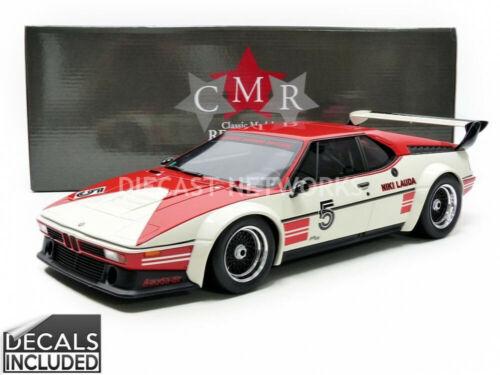 1//12 Cmr BMW m1 Procar-Winner Procar series 1979-cmr12004