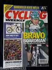 CYCLING WEEKLY - LANCASTER MERCEDES GP - APRIL 22 2000