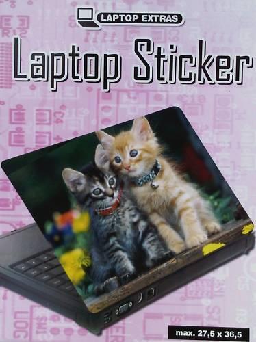 2 X Laptop Notebook Protective Anti Scratch Sticker Cover Cute Fluffy Kittens